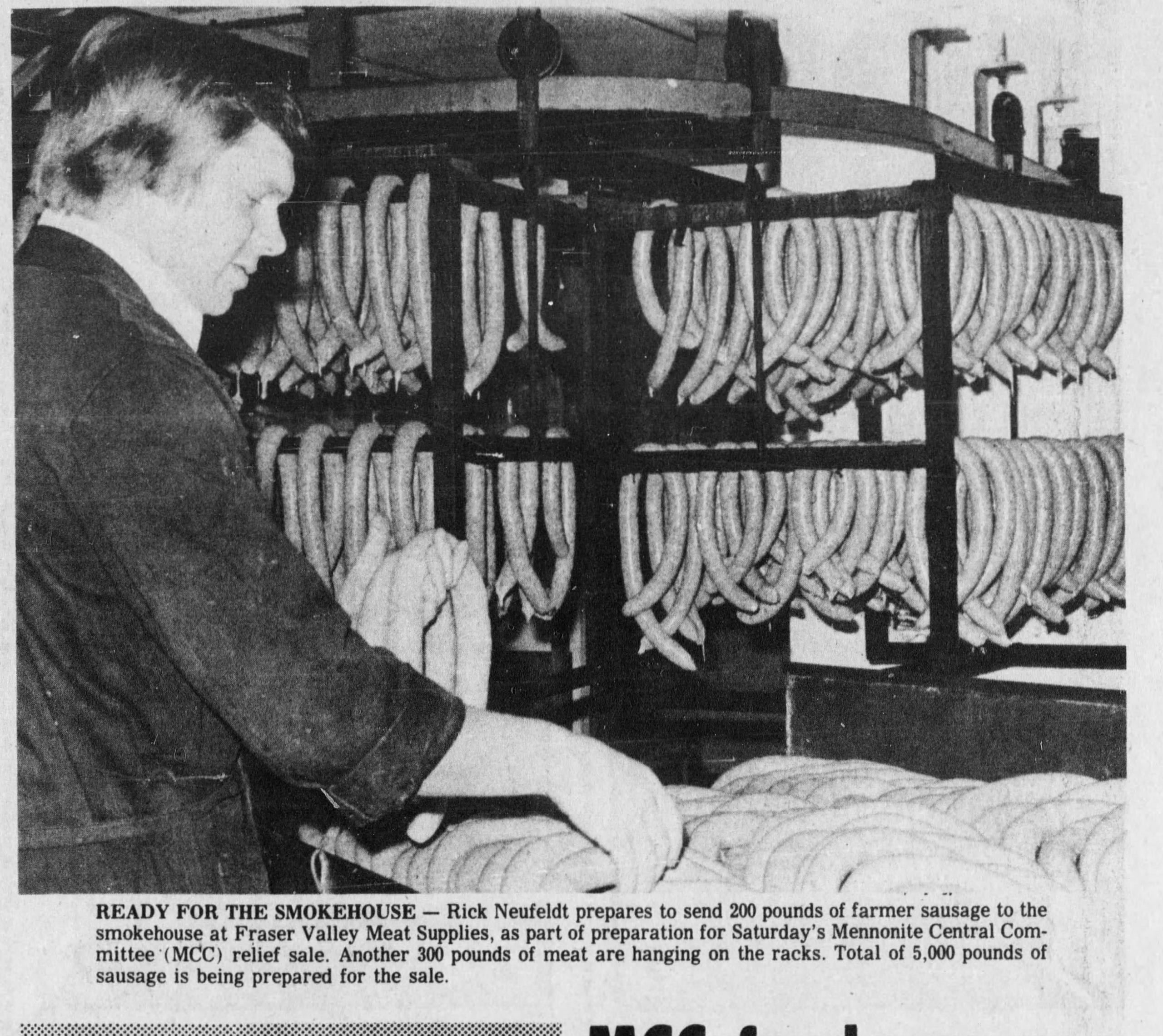 Fraser Valley Meats Chilliwack Butcher Shop History 1977